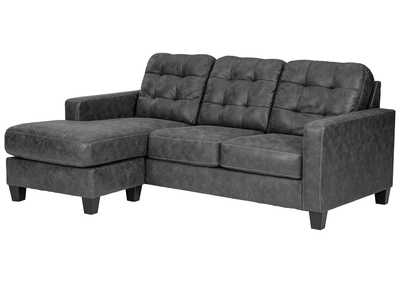 Image for Venaldi Gunmetal Queen Sofa Sleeper