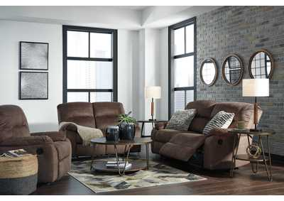 Bolzano Coffee 2 Seat Reclining Sofa & Loveseat,Signature Design By Ashley