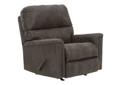 Navi Smoke Recliner,Signature Design By Ashley