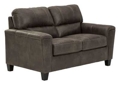 Navi Smoke Loveseat,Signature Design By Ashley