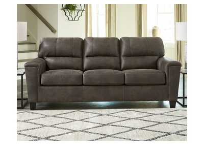 Navi Smoke Queen Sofa Sleeper,Signature Design By Ashley