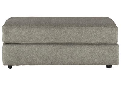 Soletren Gray Oversized Accent Ottoman,Signature Design By Ashley