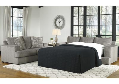Soletren Gray Queen Sofa Sleeper,Signature Design By Ashley