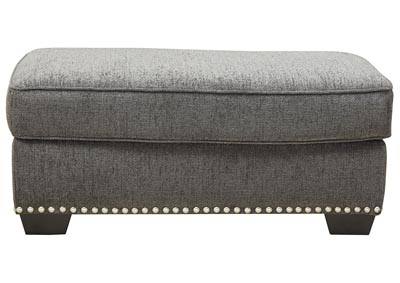 Image for Locklin Carbon Ottoman