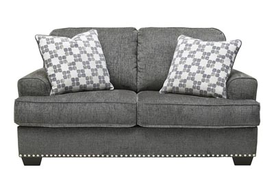 Image for Locklin Carbon Loveseat w/2 Pillows