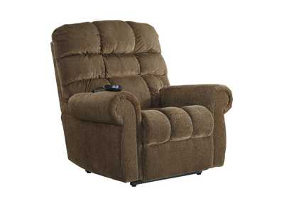 Image for Ernestine Truffle Power Lift Recliner