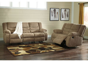 Image for Tulen Mocha Reclining Sofa and Loveseat