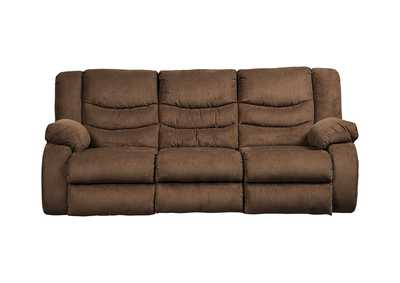 Image for Tulen Chocolate Reclining Sofa