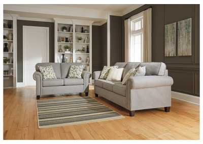 Alandari Gray Sofa & Loveseat,Signature Design By Ashley