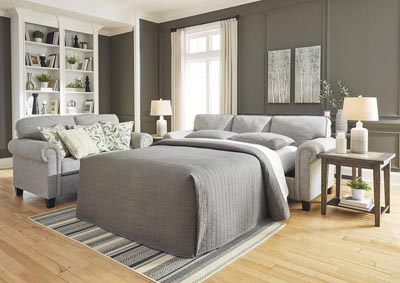 Alandari Gray Queen Sleeper Sofa,Signature Design By Ashley
