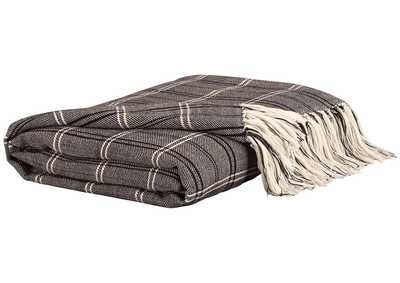 Luis Black Throw (Set of 3)