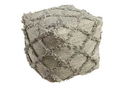 Image for Adelphie Natural/Gray Pouf
