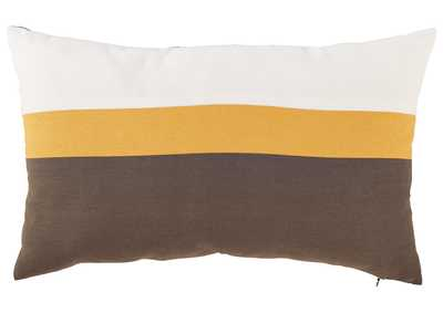 Image for Jacop Gray/Yellow/White Pillow (Set of 4)