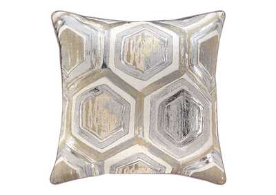 Meiling Metallic Pillow (4/CS)