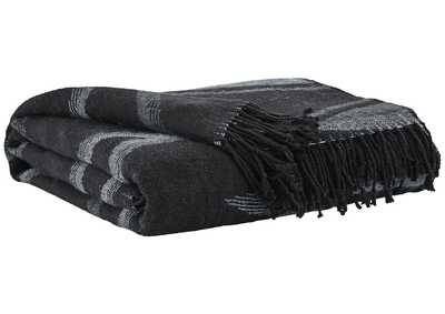 Image for Cecile Black/Gray Throw