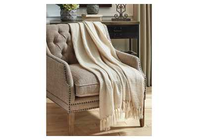 Image for Rowena Beige Throw (Set of 3)