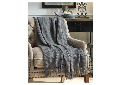 Image for Rowena Gray Throw (Set of 3)
