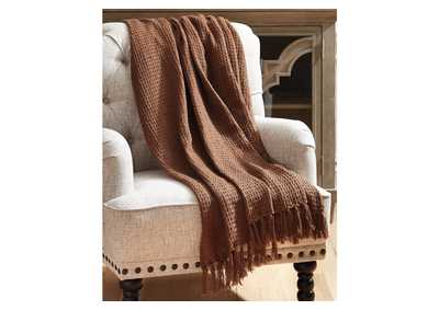 Rowena Brown Throw