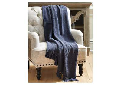 Yasmin Blue Throw