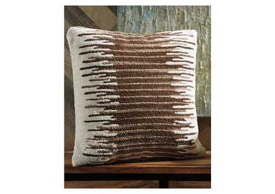 Wycombe Cream/Brown Pillow (Set of 4)
