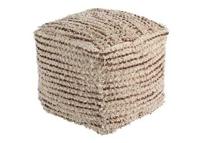 Image for Jorge Brown/Cream Pouf