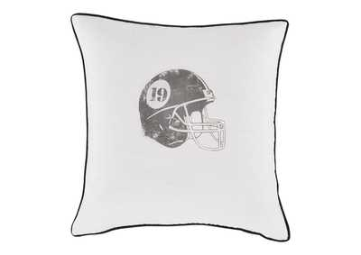 Waman Football Design 4 Piece Pillow Set