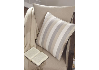 Mistelee Tan/Cream/Gray Pillow (Set of 4),Signature Design By Ashley