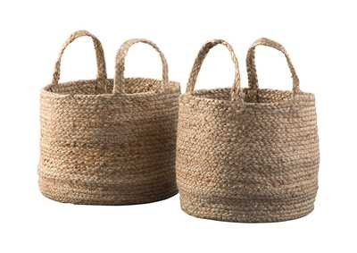 Brayton Natural Basket Set (Set of 2)