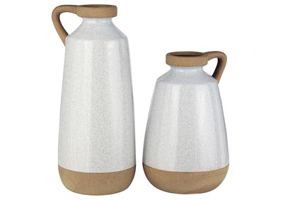 Tilbury Cream Vase (Set of 2)