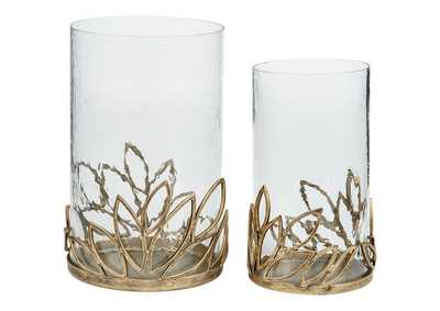 Image for Pascal Yellow Candle Holder (Set of 2)