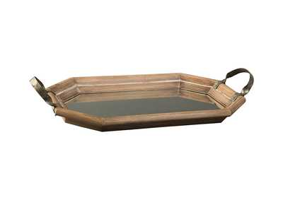 Kadmiel Natural/Gold Finish Tray