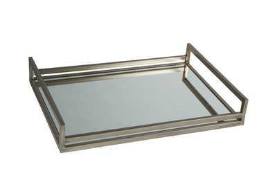 Image for Derex Silver Finish Tray
