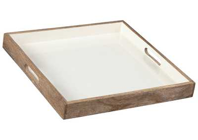 MORIA Natural/White Tray