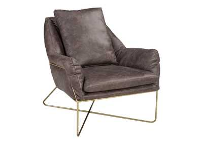 Image for Crosshaven Dark Gray Accent Chair