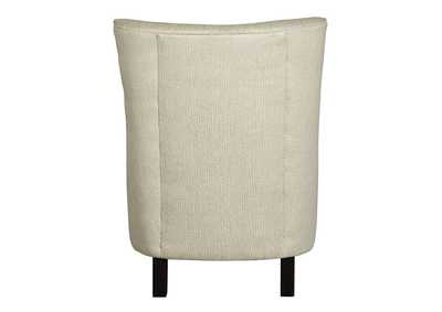 Paseo White Accent Chair,Signature Design By Ashley