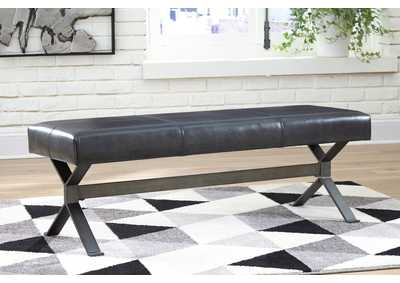 Image for Lariland Black Accent Bench