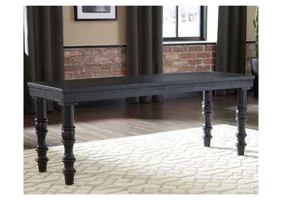 Image for Dannerville Black Accent Bench
