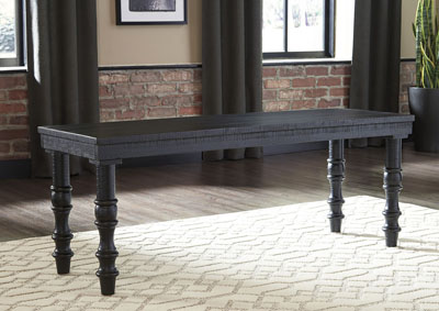 Dannerville Black Accent Bench,Signature Design By Ashley