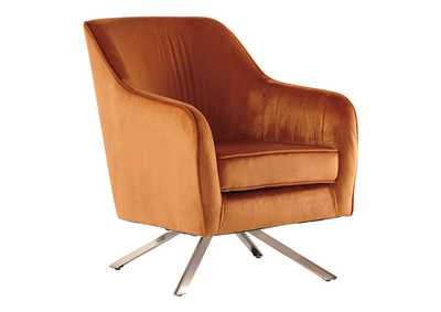 Image for Hangar Orange Accent Chair