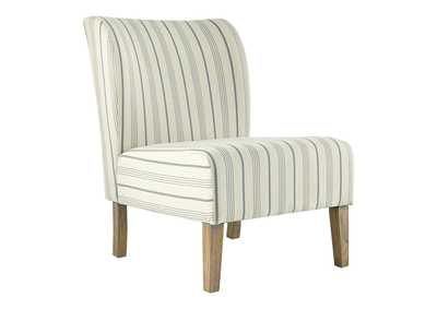 Image for Triptis Cream/Blue Accent Chair