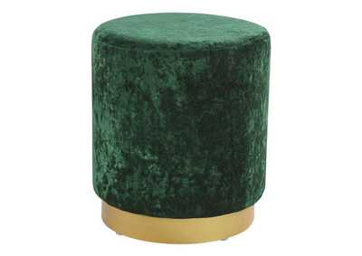 Image for Lancer Green Accent Ottoman