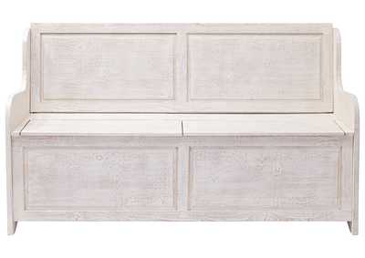 Image for Dannerville Antique White Storage Bench