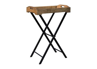 Image for Cadocridge Brown/Black Accent Table
