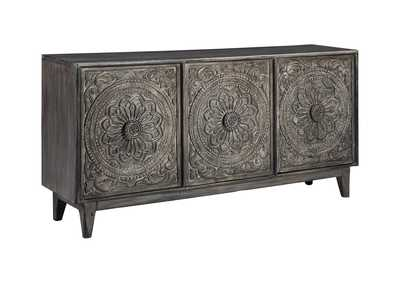 Image for Fair Ridge Dark Brown Console