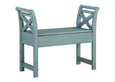 Image for Heron Ridge Blue Accent Bench