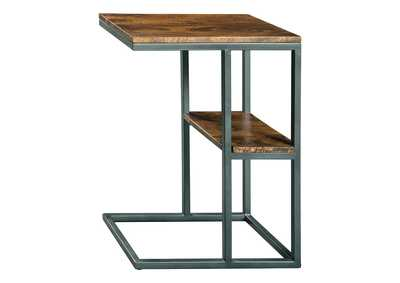 Image for Forestmin Natural/Black Accent Table