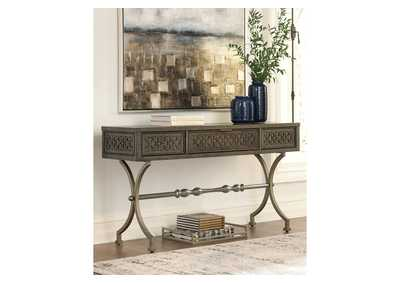 Image for Quinnland Black Sofa Table