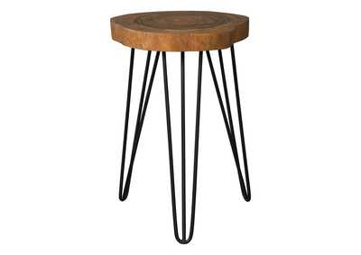 Image for Eversboro Brown/Black Accent Table
