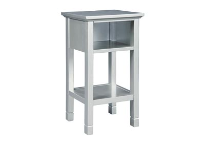 Image for Marnville Silver Finish Accent Table