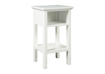 Marnville White Accent Table,Signature Design By Ashley
